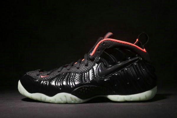 Cheap Wholesale Nike Air Foamposite Pro Premium YEEZY Black Laser Crimson 616750-001 - www.wholesaleflyknit.com