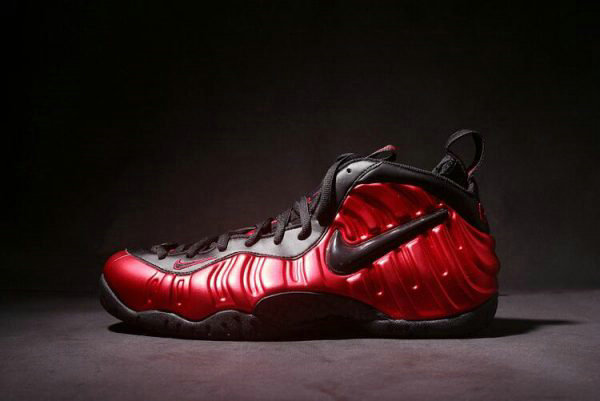 Cheap Wholesale Nike Air Foamposite Pro University Red Black Mens Size 624041-604 - www.wholesaleflyknit.com