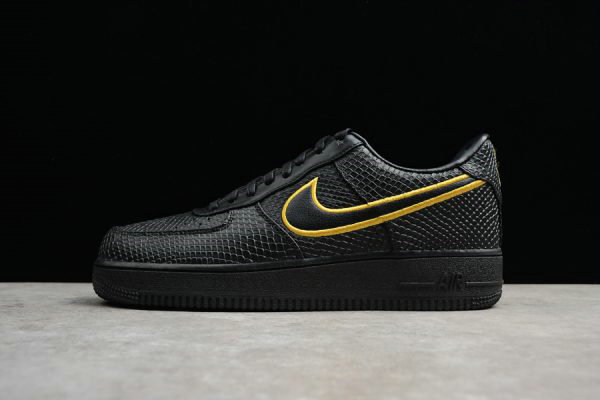 Cheap Wholesale Nike Air Force 1 Low Premium NIKEiD Black Mamba For Sale - www.wholesaleflyknit.com