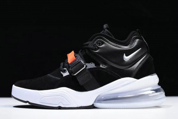 Cheap Wholesale Nike Air Force 270 Metallic Black Metallic Silver-White AH6772-001 For Sale - www.wholesaleflyknit.com