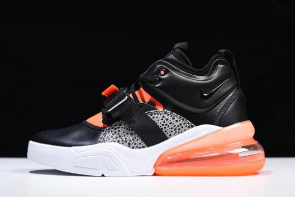 Cheap Wholesale Nike Air Force 270 Safari Black Hyper Crimson-Wolf Grey-White AH6772-004 - www.wholesaleflyknit.com