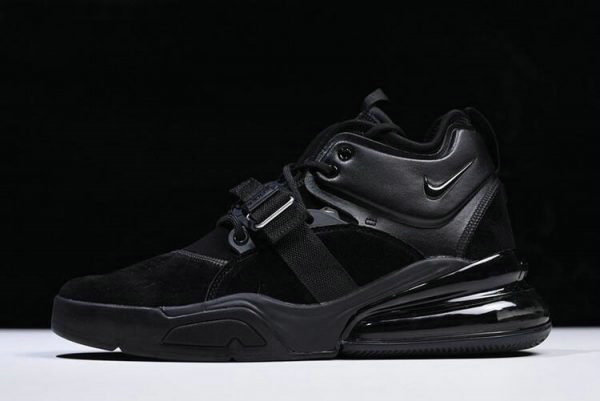 Cheap Wholesale Nike Air Force 270 Triple Black AH6772-003 Free Shipping - www.wholesaleflyknit.com