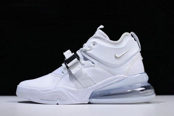 Cheap Wholesale Nike Air Force 270 White Pure Platinum Mens Size AH6772-010 - www.wholesaleflyknit.com