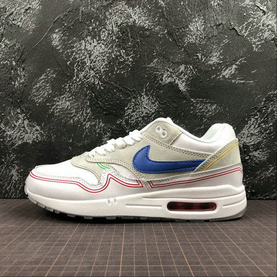 Wholesale Nike Air Max 1 Centre Pompidou Mens Womens AV3735-002 Beige-www.wholesaleflyknit.com