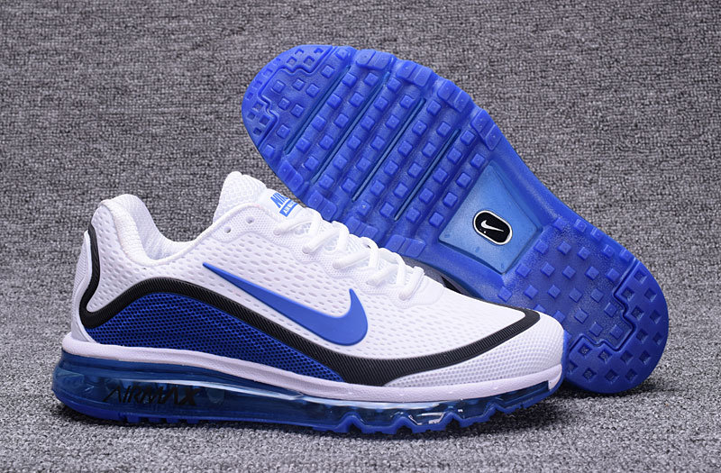 Wholesale Cheap Nike Air Max 2017 Blue Black White 898013-111 Air Max - www.wholesaleflyknit.com