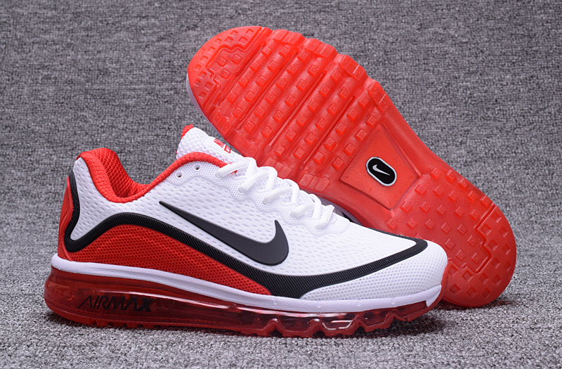Wholesale Cheap Nike Air Max 2017 Fire Red White Black 898013-113 Air Max - www.wholesaleflyknit.com