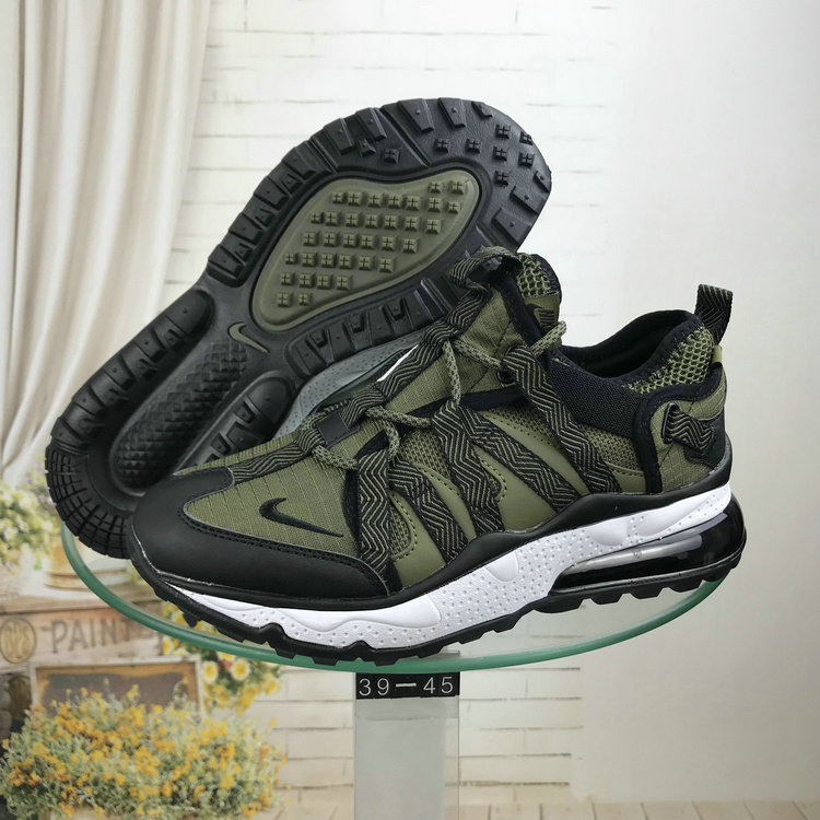 Wholesale Nike Air Max 270 Bowfin Army Green Black White-www.wholesaleflyknit.com