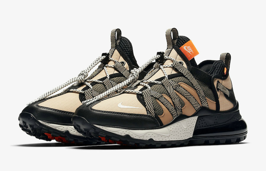 Wholesale Nike Air Max 270 Bowfin Black Phantom-Desert-Cone AJ7200-001-www.wholesaleflyknit.com