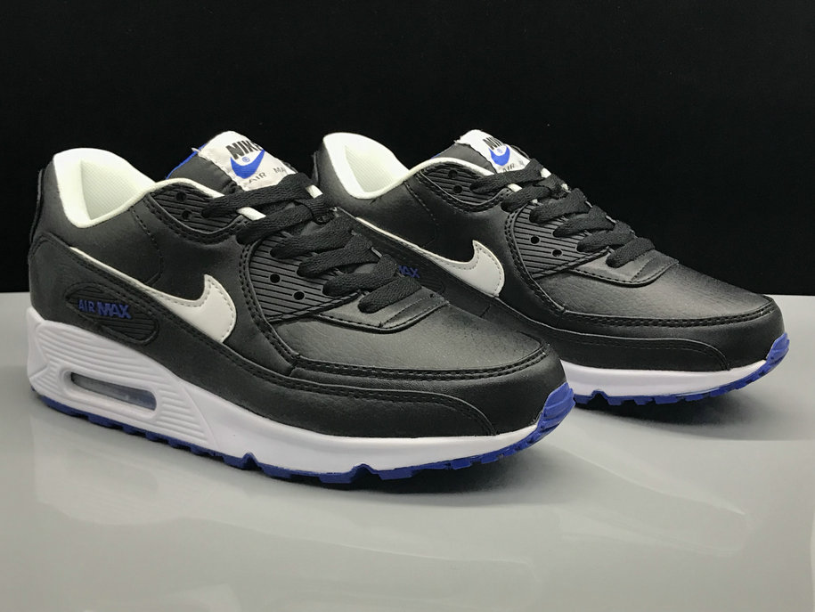 Wholesale Nike Air Max 90 Classic Blue Black White On www.wholesaleoffwhite.com