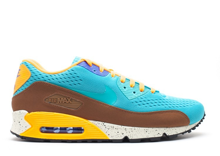Cheap Wholesale Nike Air Max 90 Em Beaches Of Rio 554719-336 Sport Turquoise Sport Turquoise-Bright Citrus - www.wholesaleflyknit.com