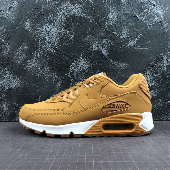 Wholesale Nike Air Max 90 Essential 881105-200 Wheat Color White Froment Blanc-www.wholesaleflyknit.com