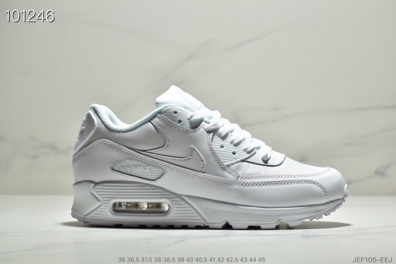 Nike Air Max 90 Essential White-White 537384-111 - www.wholesaleflyknit.com