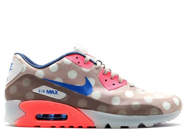 Cheap Wholesale Nike Air Max 90 Ice City Qs Nyc 667635-001 Classic Stone Hyper Cobalt Hyper Punch - www.wholesaleflyknit.com