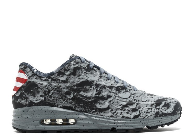 Cheap Wholesale Nike Air Max 90 Lunar Sp Moon Landing 700098-007 Reflective Silver Reflective Silver Metallic Gold - www.wholesaleflyknit.com