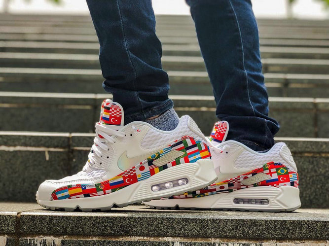 Wholesale Nike Air Max 90 Out Of The International Flag Pack Mens Womens On www.wholesaleoffwhite.com