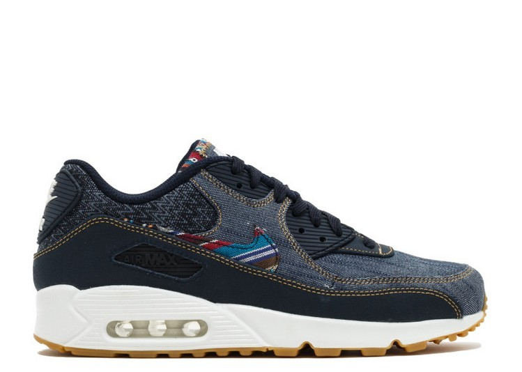 Cheap Wholesale Nike Air Max 90 Premium Afro Punk Pack 700155-402 Dark Obsidian Dark Obsidian Summit White - www.wholesaleflyknit.com