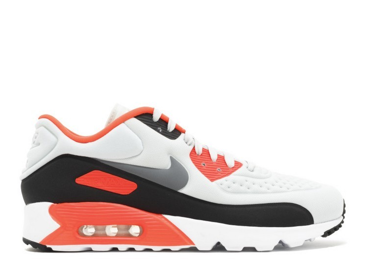 Cheap Wholesale Nike Air Max 90 Ultra Se Infrared 845039-006 Pure Platinum Cool Grey Neutral Grey-Bright Crimson-Black - www.wholesaleflyknit.com