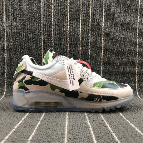 Wholesale Nike Air Max 90 x Off-White AA7293-101 SAIL WHITE MUSLIN VOILE MOISSELINE BLANC On www.wholesaleoffwhite.com