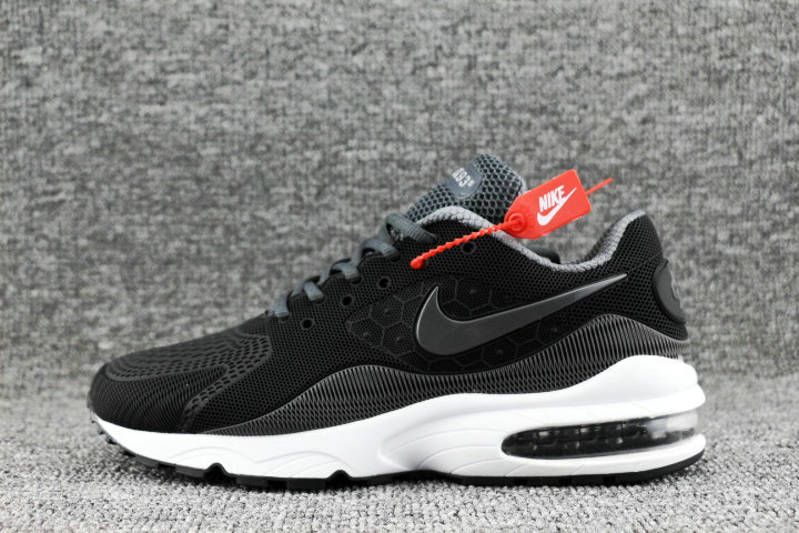 Wholesale Nike Air Max 93 OG Dark Grey White Black On www.wholesaleoffwhite.com