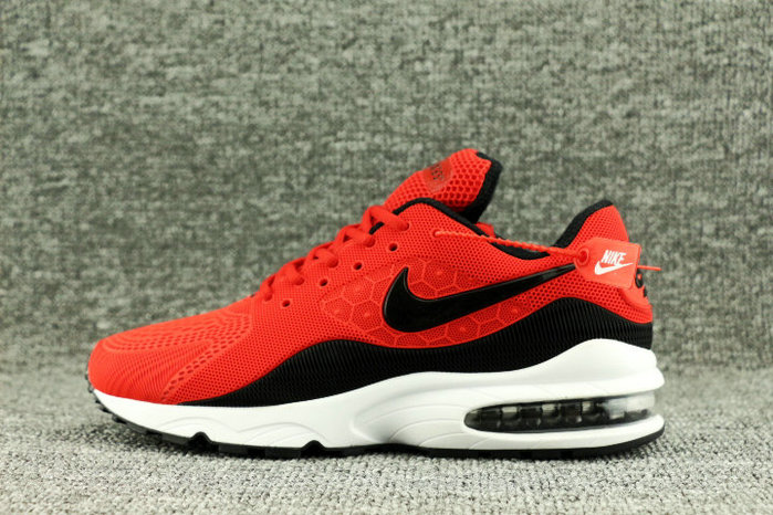Wholesale Nike Air Max 93 OG Fire Red Black White On www.wholesaleoffwhite.com