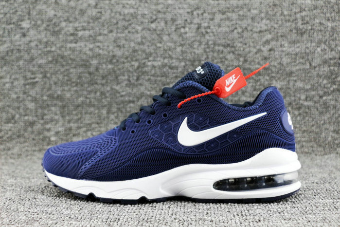 Wholesale Nike Air Max 93 OG Royal Blue White Black On www.wholesaleoffwhite.com