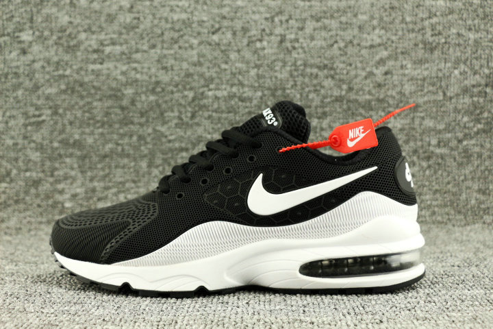Wholesale Nike Air Max 93 OG White Black On www.wholesaleoffwhite.com