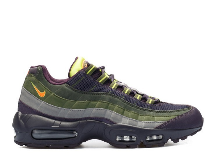 Cheap Wholesale Nike Air Max 95 Cave Purple 609048-500 Cave Purple Hyper Crimson-Rough Green - www.wholesaleflyknit.com
