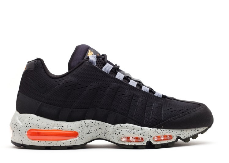 Cheap Wholesale Nike Air Max 95 Em Honolulu 554971-080 Black Bright Citrus Grey Honolulu - www.wholesaleflyknit.com