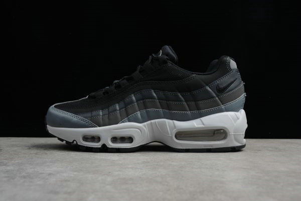 Cheap Wholesale Nike Air Max 95 Essential Black Anthracite-Dark Grey 749766-021 Mens Shoes - www.wholesaleflyknit.com
