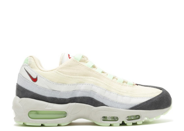 Cheap Wholesale Nike Air Max 95 Halloween Qs 717599-100 Summit White Menta Light Base Grey - www.wholesaleflyknit.com