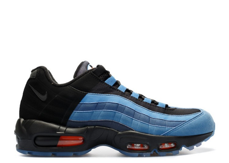 Cheap Wholesale Nike Air Max 95 Lj Qs Lebron James Gametime 822829-444 Coastal Blue Court Blue-Str Bl - www.wholesaleflyknit.com