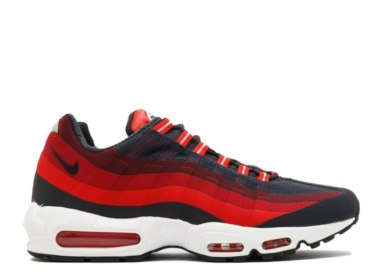 Cheap Wholesale Nike Air Max 95 No Sew 616190-001 Anthracite Challenge Red Gym Red Laser Crimson - www.wholesaleflyknit.com