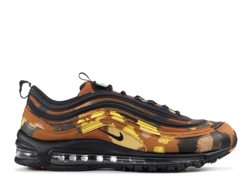 Cheap Wholesale Nike Air Max 97 Premium Qs Country Camo Pack Italy Aj2614-202 Ale Brown Black-Cargo Khaki-Mushroom - www.wholesaleflyknit.com