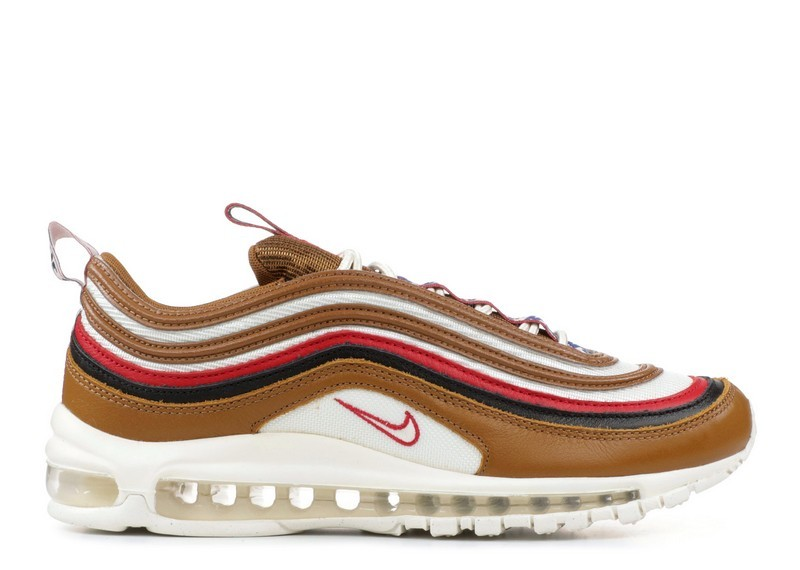 Cheap Wholesale Nike Air Max 97 Pull Tab Aj3053-200 Ale Brown Sail Gym Red Black - www.wholesaleflyknit.com