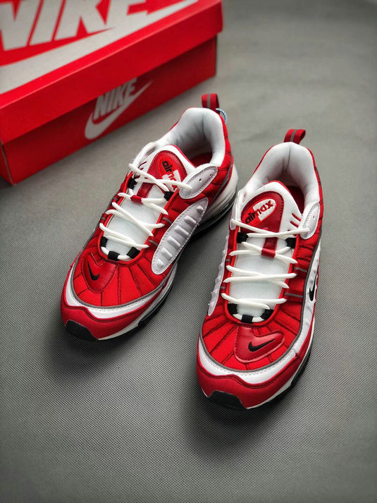 Wholesale Nike Air Max 98 University Red Release Date-www.wholesaleflyknit.com