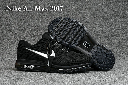 Wholesale Cheap Nike Air Max Nike Air Max 2017 Running Black White - www.wholesaleflyknit.com