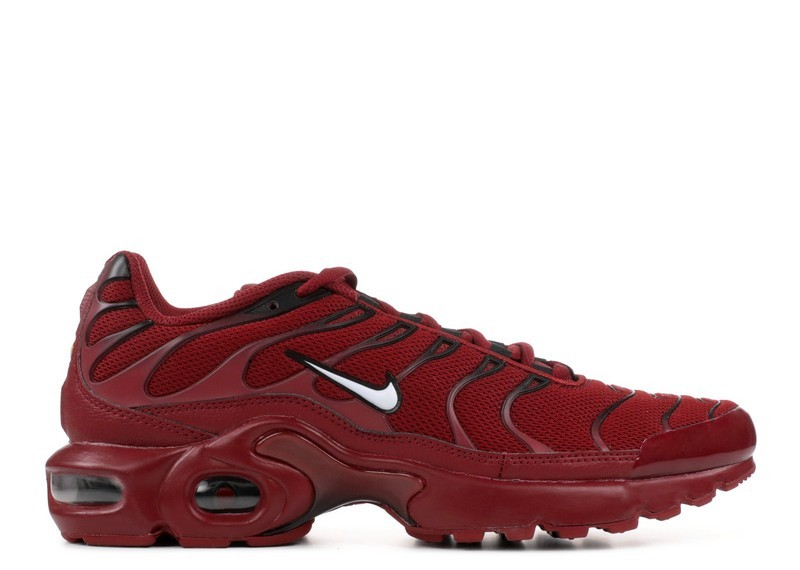 Cheap Wholesale Nike Air Max Plus Gs 655020-603 Team Red Burgundy Black - www.wholesaleflyknit.com