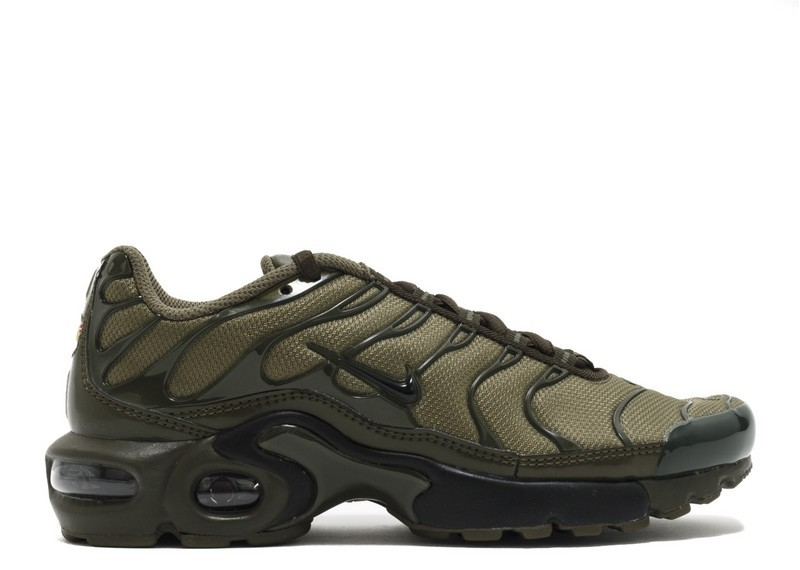 Cheap Wholesale Nike Air Max Plus Gs Olive Cargo 655020-200 Medium Olive Black Dark Loden - www.wholesaleflyknit.com