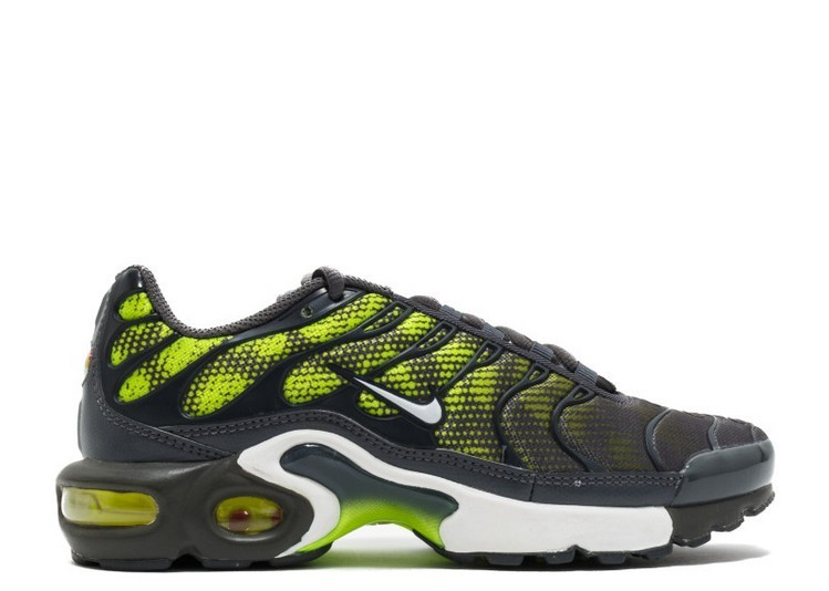 Cheap Wholesale Nike Air Max Plus Nike Tuned 1 Tn Gs 655020-076 Dark Grey Volt White - www.wholesaleflyknit.com