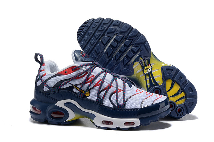 5a982956f7 Cheap Wholesale Nike Air Max Plus TN Sicko White Red Navy Blue Yellow - www.