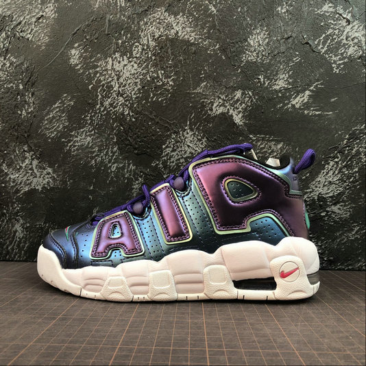 Wholesale Nike Air More Uptempo Womens 922845-500 Court Purple Rush Pink Violet Court Rose Intense-www.wholesaleflyknit.com