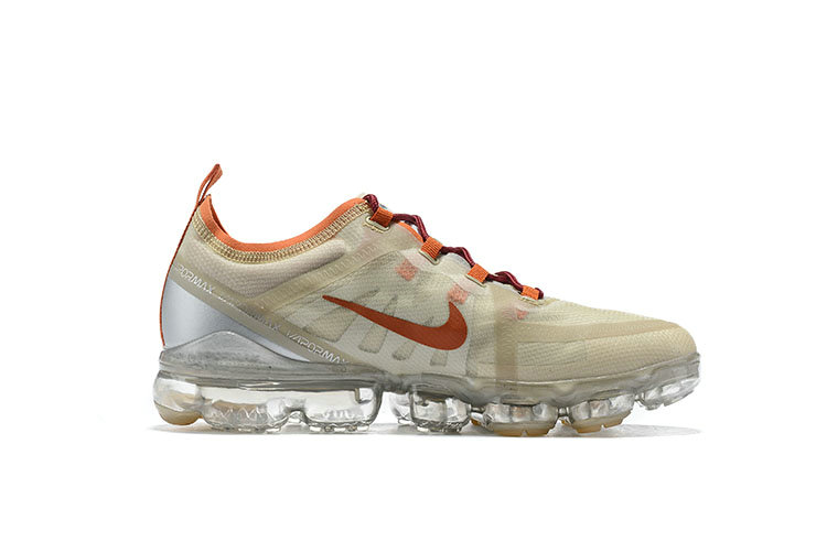 Nike Air VaporMax 2019 Premium Pure Platinum Metallic Gold-Gym Red BQ7038-001 - www.wholesaleflyknit.com