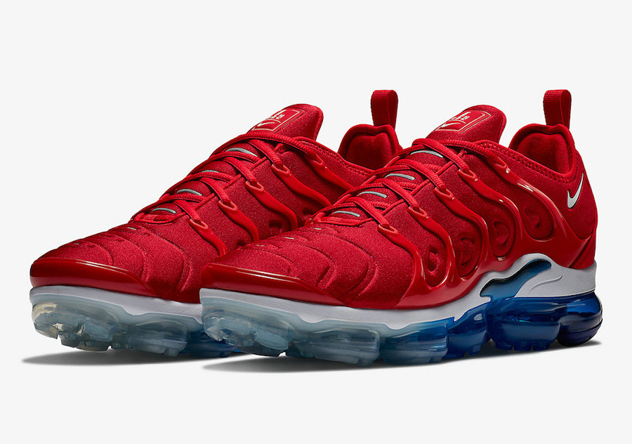 Wholesale Nike Air VaporMax Plus USA Tea Berry Bordeaux Tea Berry-Metallic Silver 924453-601-www.wholesaleflyknit.com