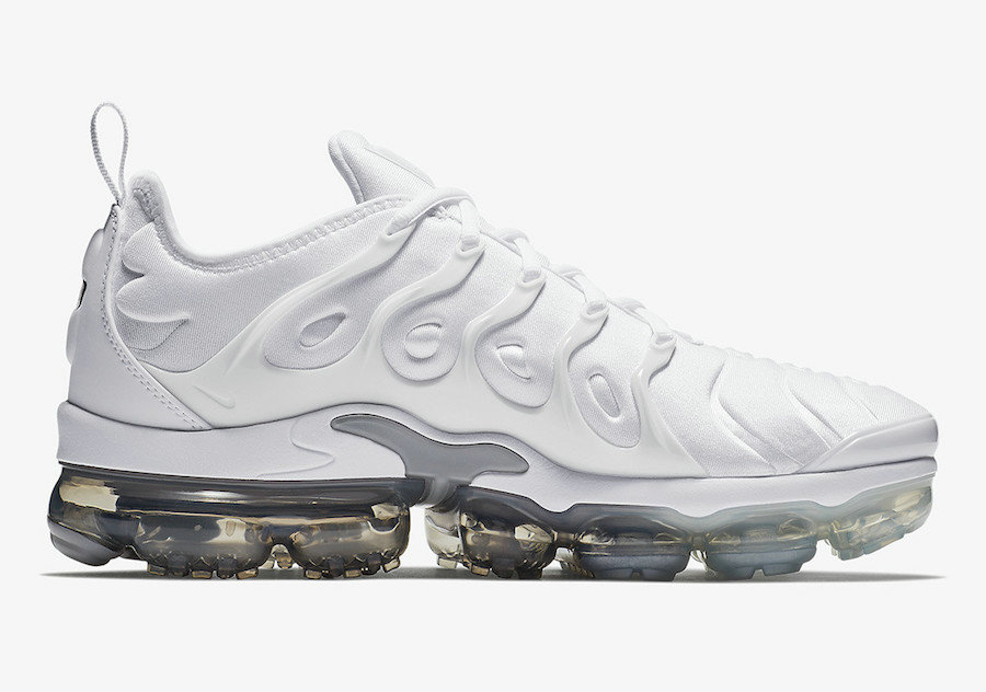 Wholesale Nike Air VaporMax Plus White Wolf Grey-Pure Platinum 924453-102-www.wholesaleflyknit.com