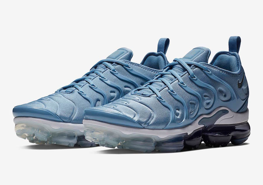 Wholesale Nike Air VaporMax Plus Work Blue Cool Grey-Diffused Blue-White 924453-402-www.wholesaleflyknit.com