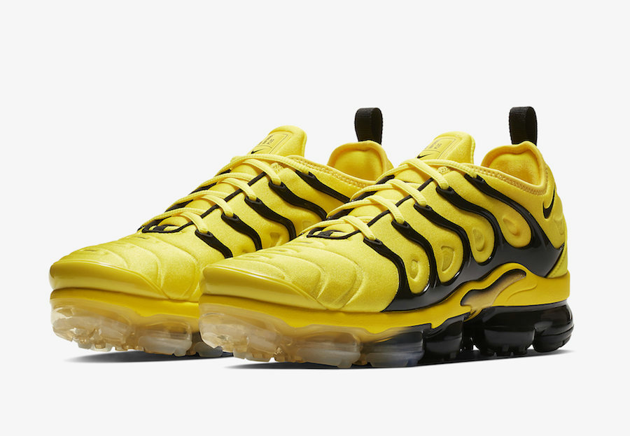 Wholesale Nike Air VaporMax Plus Yellow Black BV6079-700-www.wholesaleflyknit.com