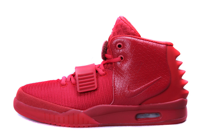 Wholesale Cheap Nike Air Yeezy 2 Red October Glow in the Dark For Sale - www.wholesaleflyknit.com