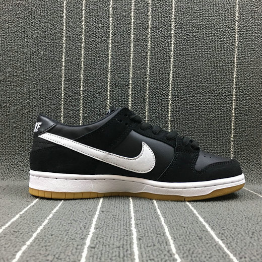 Wholesale Nike Dunk SB Low Pink Pro Black Gum Womens 854866-019 Black White Gum Light Brown Noir Brun Clair Gomme Blanc-www.wholesaleflyknit.com