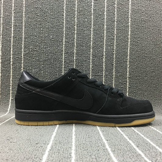 Wholesale Nike Dunk SB Low Pro Iw Womens 819674-002 Black Gum Light Brown Noir Brun Clair Gomme-www.wholesaleflyknit.com