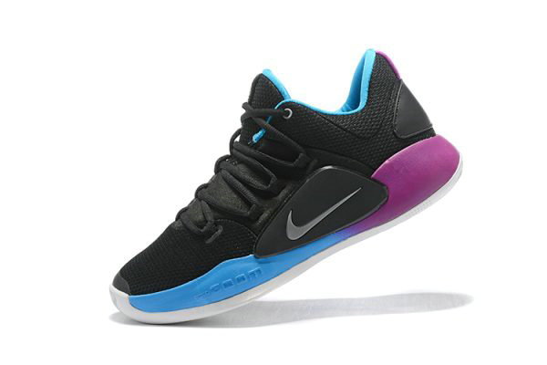Cheap Wholesale Nike Hyperdunk X Low EP 2018 Black Purple-Blue Mens Basketball Shoes - www.wholesaleflyknit.com